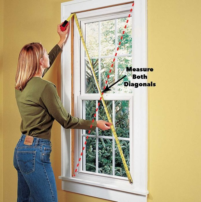 check for square window replacement