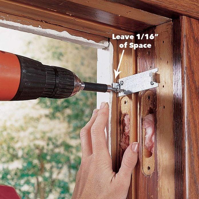 attach jamb liner clips