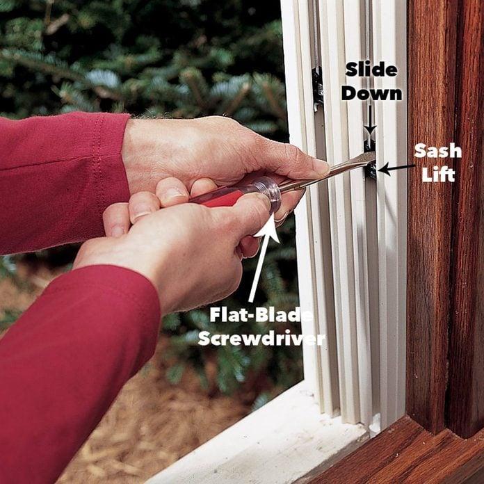 position sash lifts window