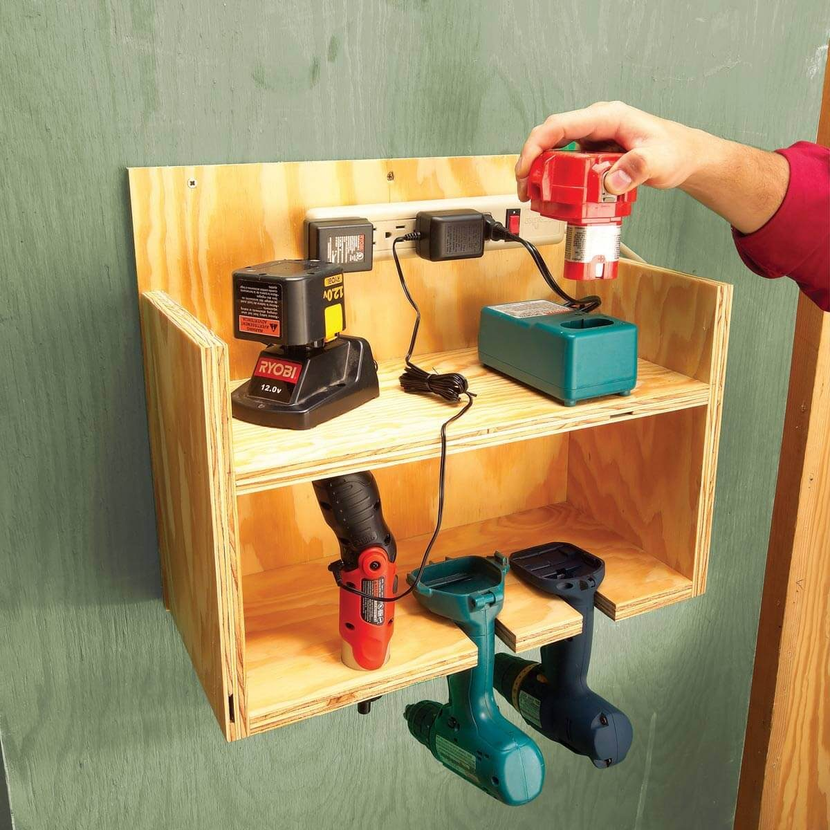 Cordless Drill Driver Station The Family Handyman