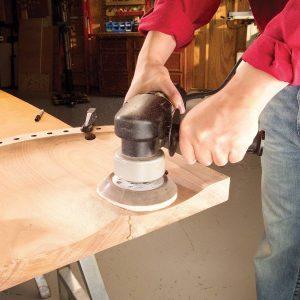 cushioned contour sanding