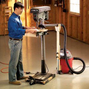Adjustable dust control
