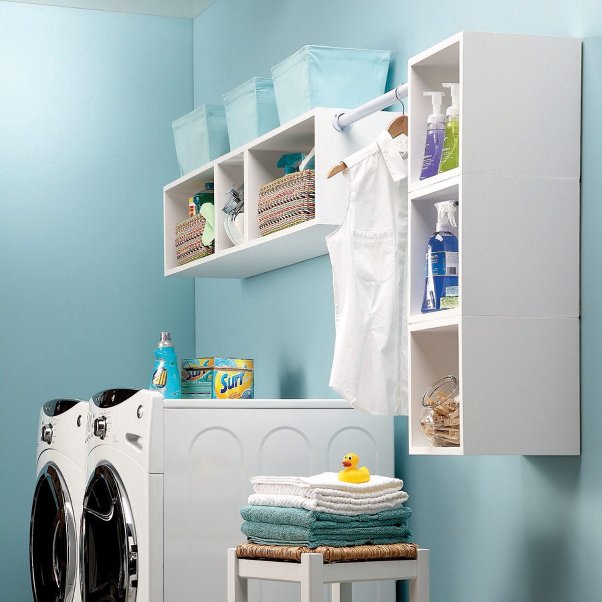 25 Cheap Laundry Room Ideas You Can Diy Today Family Handyman