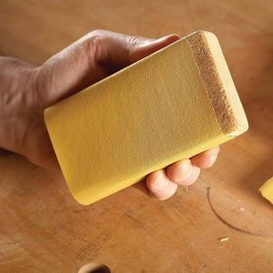 This Material Makes the Perfect Sanding Block