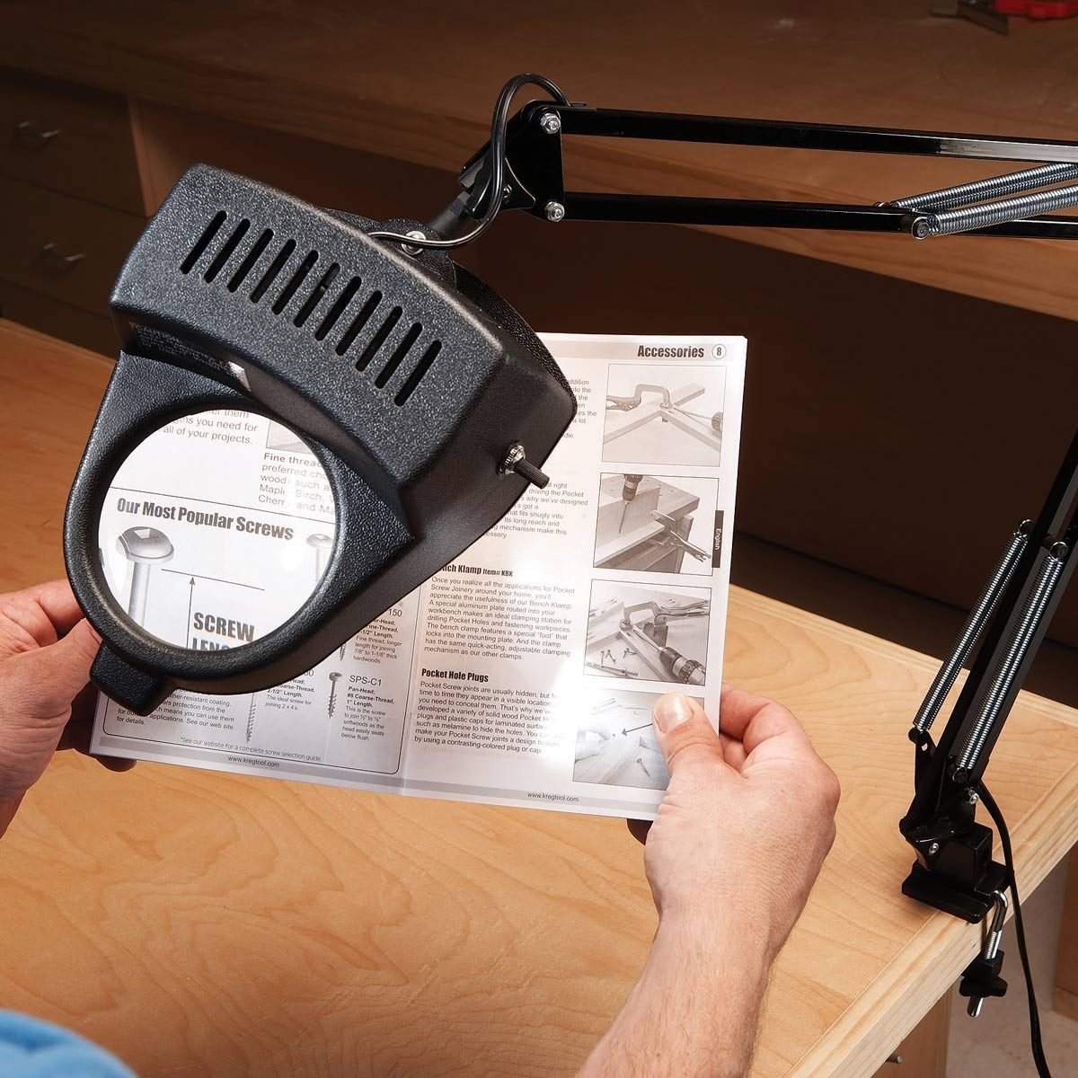 Why You Should Get a Magnifying Lamp for Your Workshop