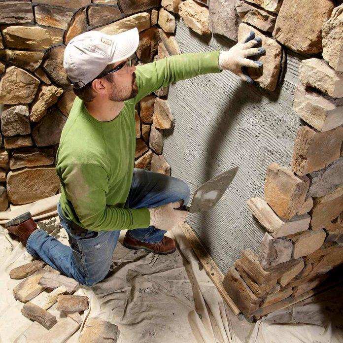 Remodeling Ideas: Manufactured Stone Veneer