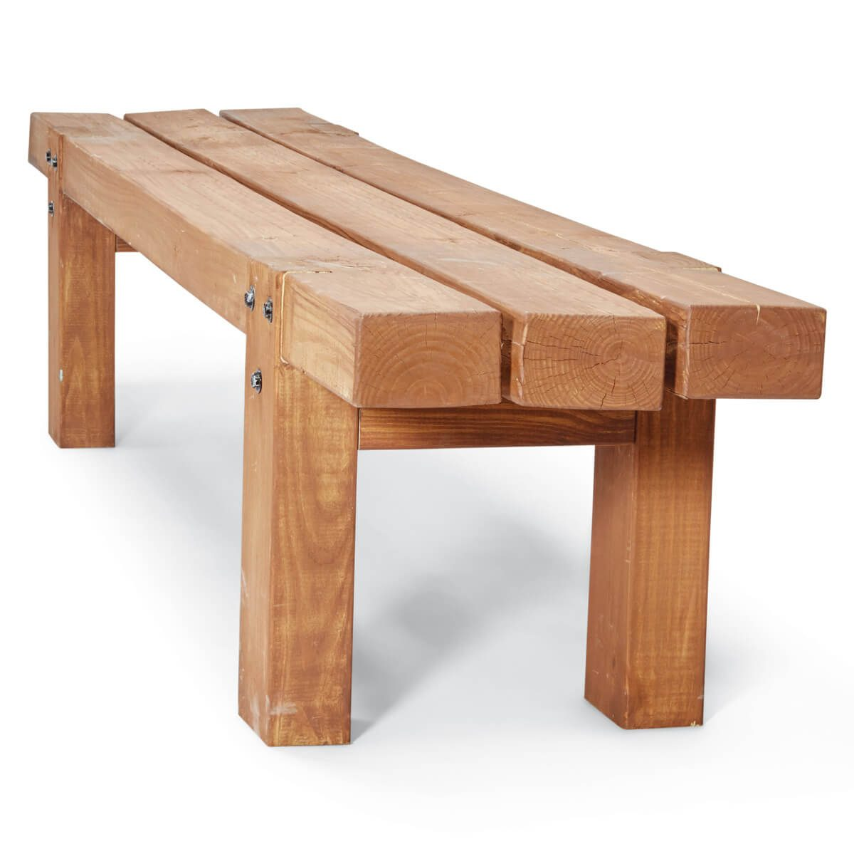 Remarkable How To Make Simple Timber Bench The Family Handyman Lamtechconsult Wood Chair Design Ideas Lamtechconsultcom