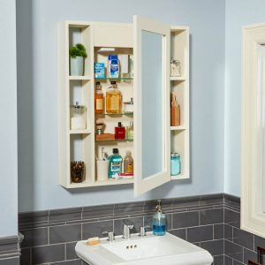 Make a Medicine Cabinet with a Hidden Compartment