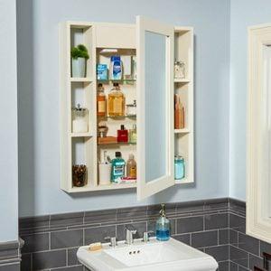 Make a Medicine Cabinet with a Hidden Compartment