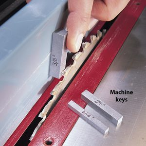 The Key to Accurate Table Saw and Router Cuts