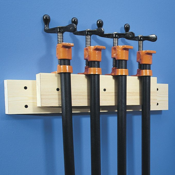 cleat for hanging pipe clamps