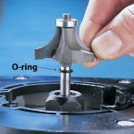 O-Ringed Router Bits