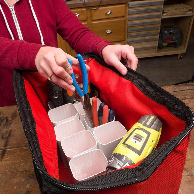 How to Make Tool Organizers with Gutters