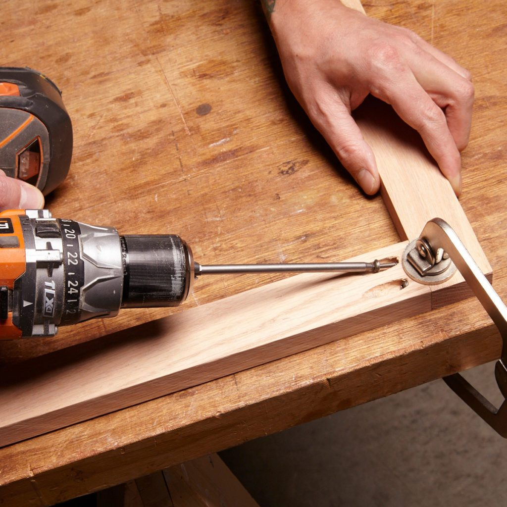 Assemble the face frame with pocket hole screws   Construction Pro Tips