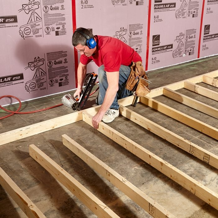Assemble walls on the floor   Construction Pro Tips
