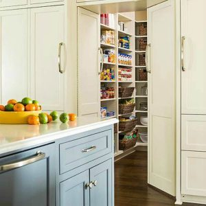 10 Genius Ideas for Building a Pantry