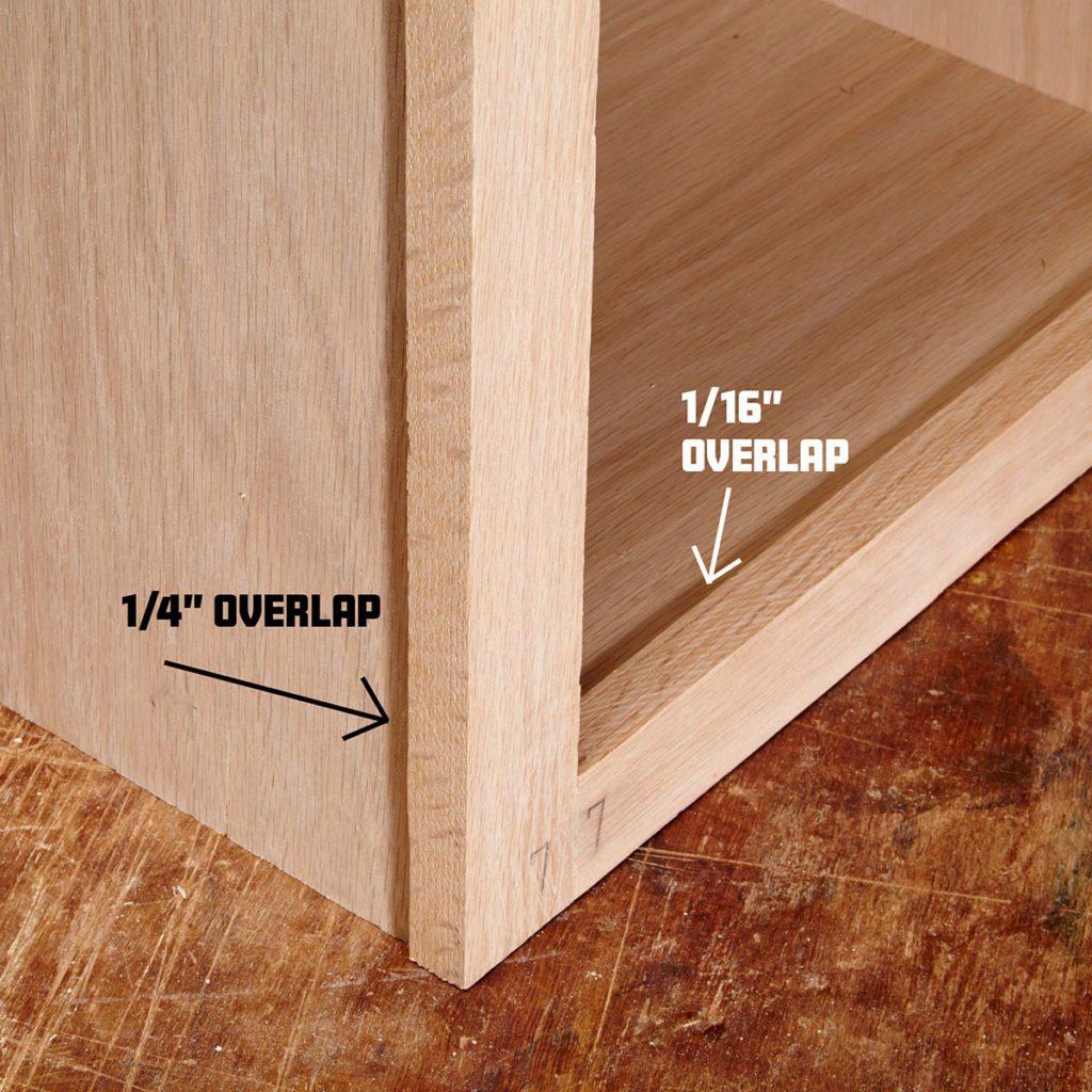 Build face frames longer   Construction Pro Tips