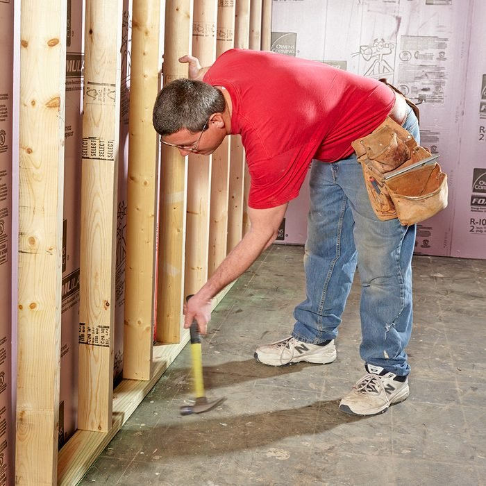 Build the walls short   Construction Pro Tips