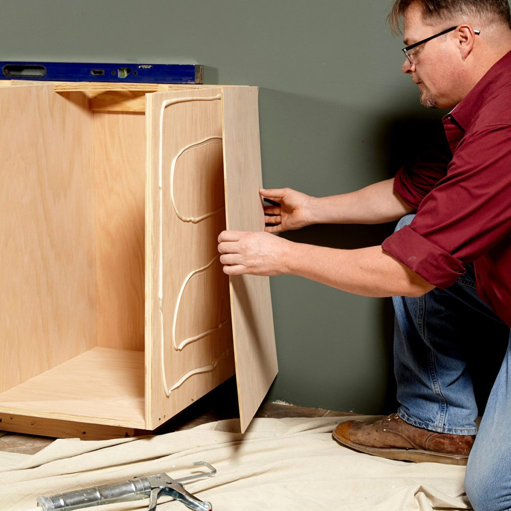 Cap end cabinets   Construction Pro Tips