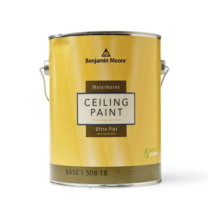 A can of special ceiling paint   Construction Pro Tips