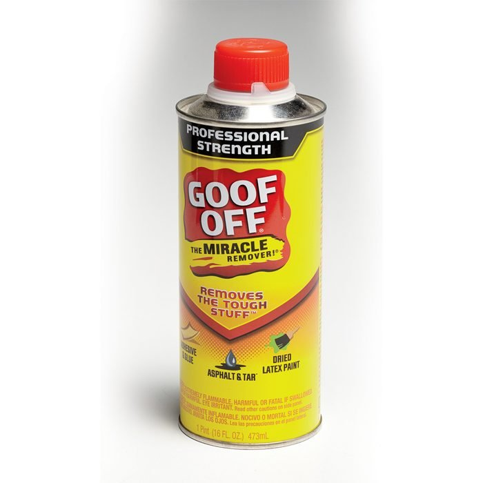 Clean your mistakes with Goof Off   Construction Pro Tips
