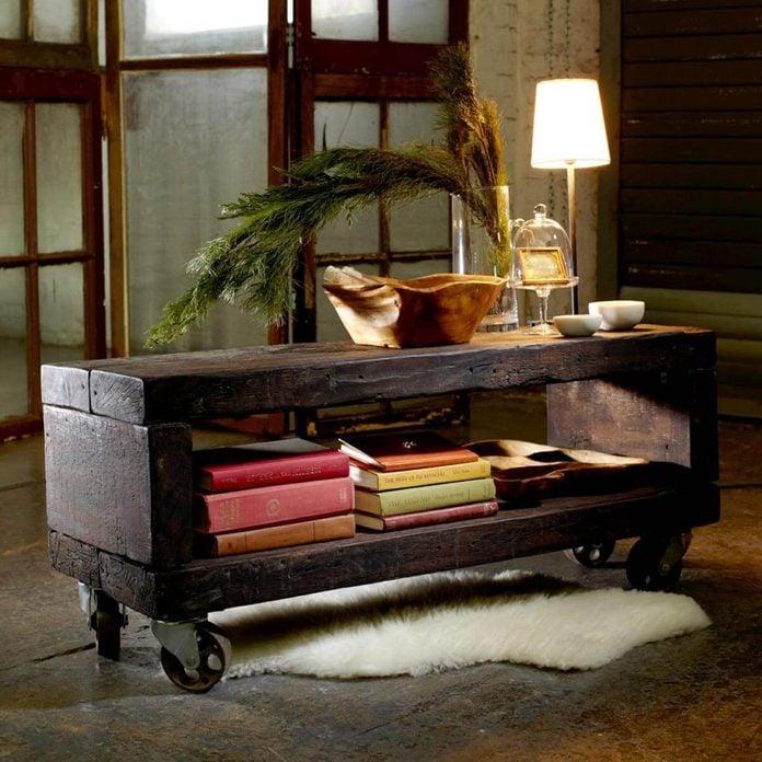 df4_ reclaimed wood coffee table