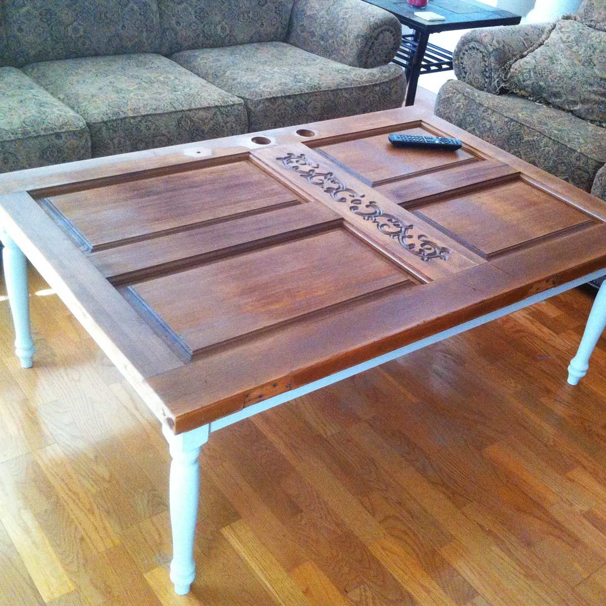 Delicieux Dfh1_doortable Homemade Coffee Table