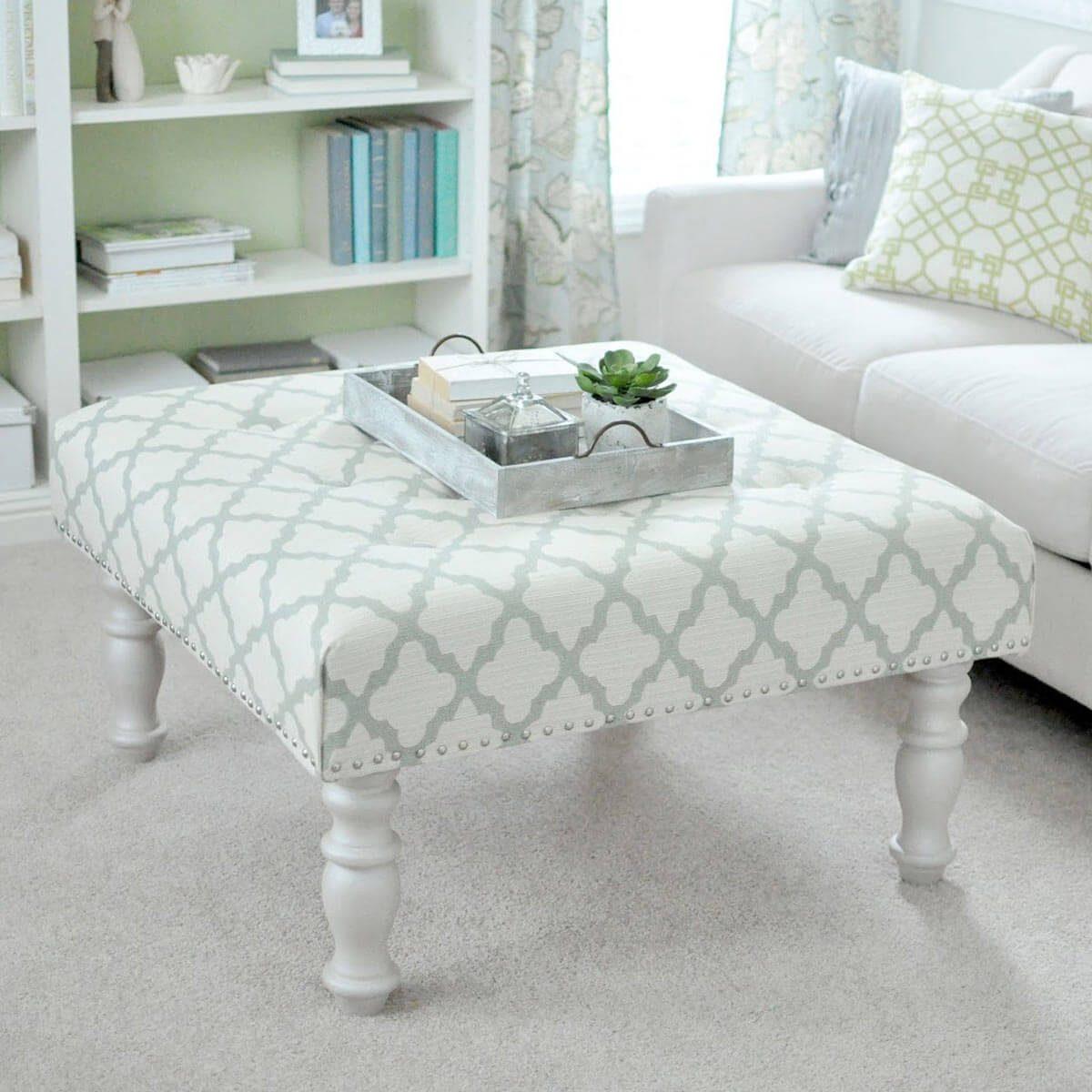 14 super cool homemade coffee table ideas the family handyman ottomancoffee table hybrid solutioingenieria Images