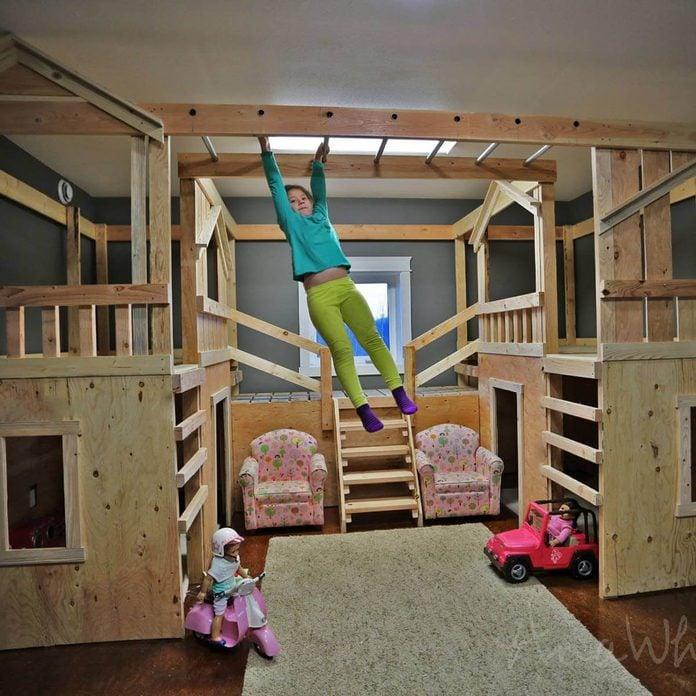 diy-basement-playground03 Indoor Playground Bed