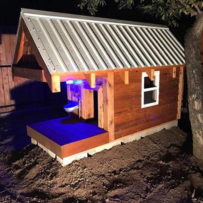 dog house lighting