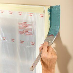Don't flood the masking tape