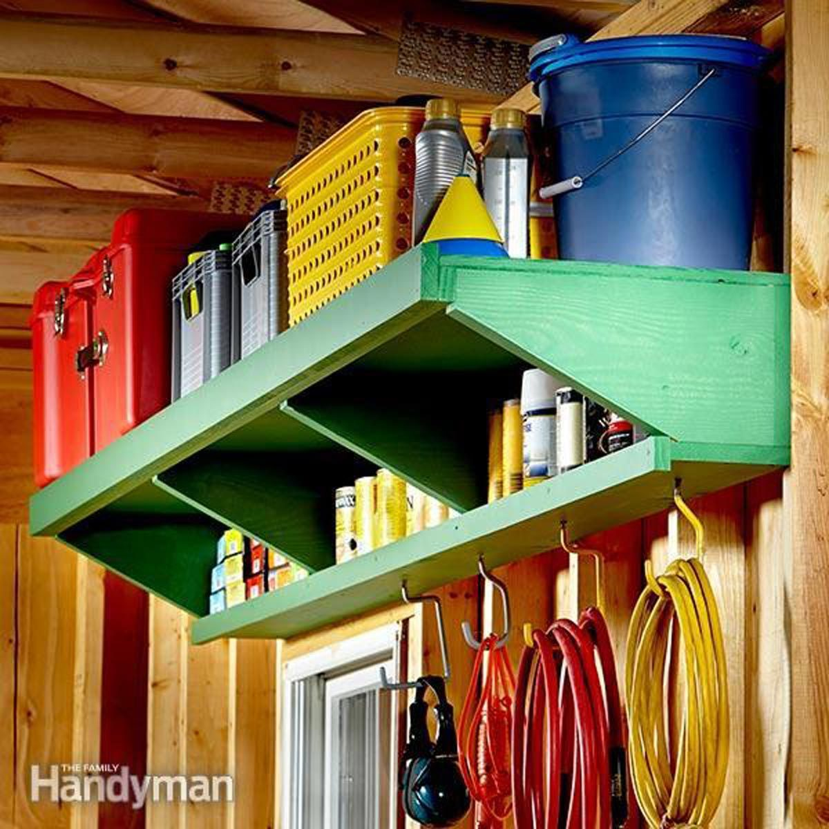 Double-Decker Shelves & 11 Ideas for Organizing Your Basement u2014 The Family Handyman