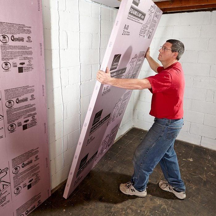 Instal foam board   Construction Pro Tips