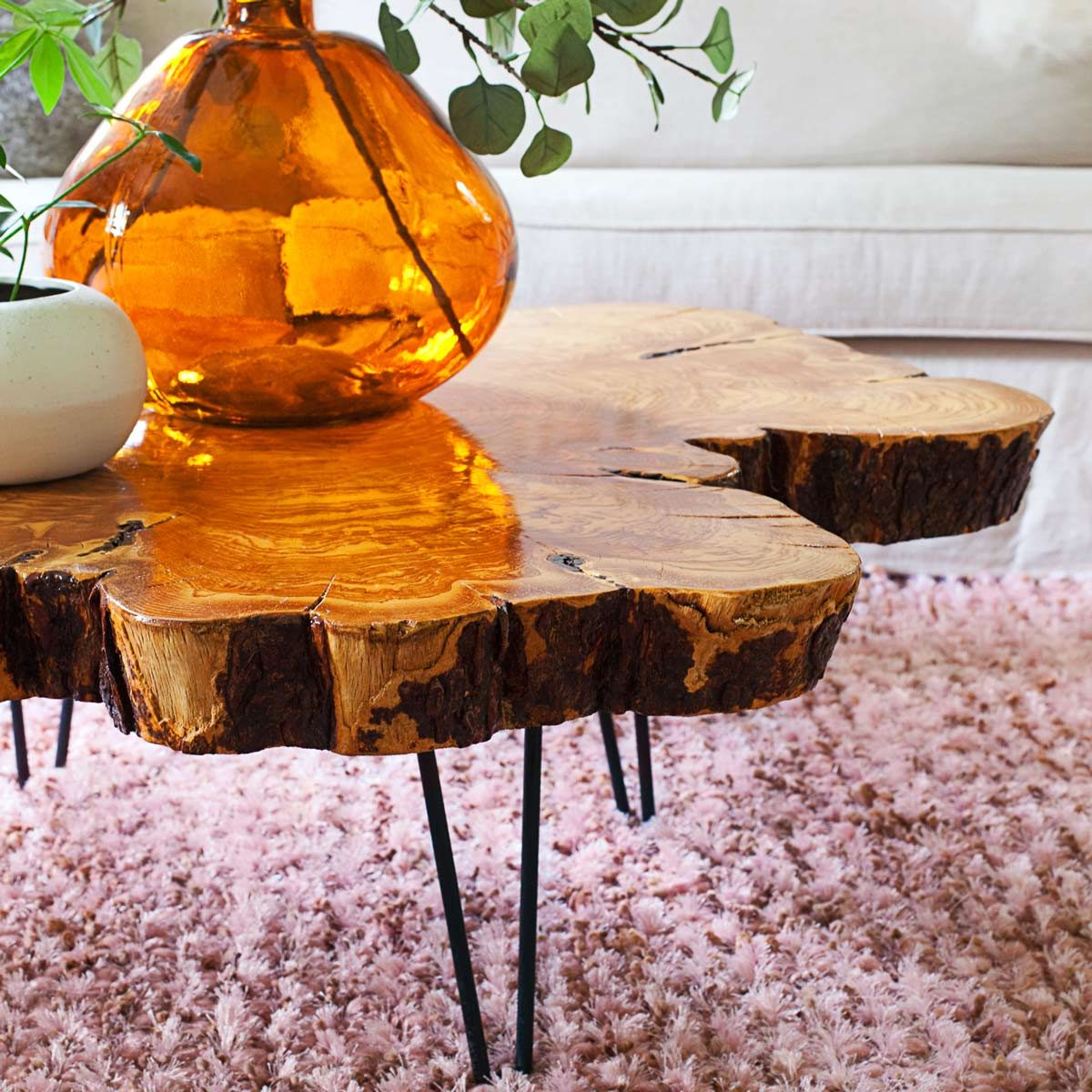 live-edge-table wood diy end table