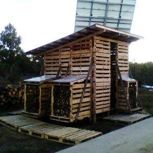 Reader Project: Pallet Shed for Storing Firewood