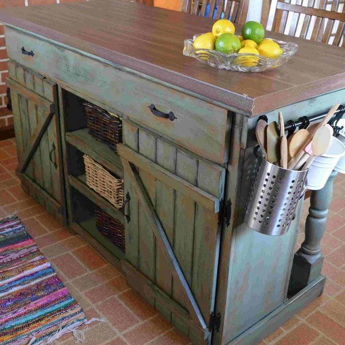 pallet island kitchen