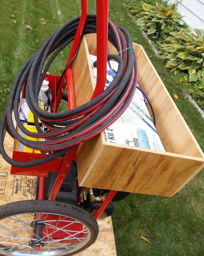 reader compressor cart storage box