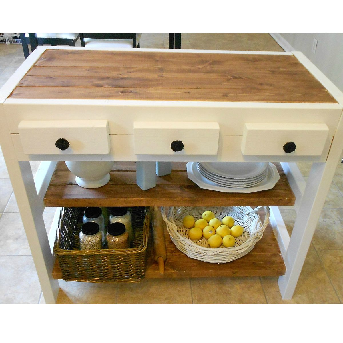 The Best DIY Kitchen Islands The Family Handyman - How to build a kitchen island with seating