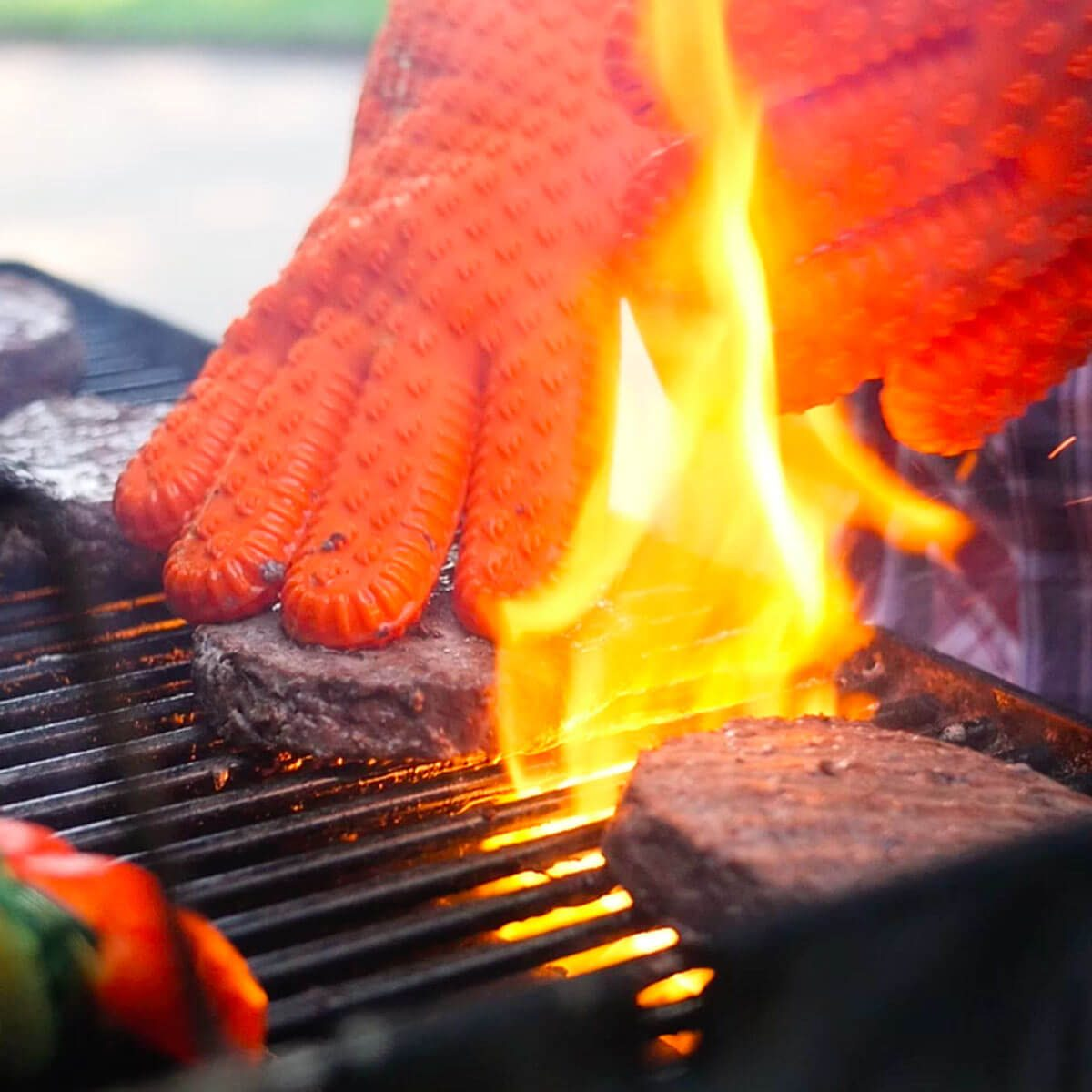 winter grilling gloves