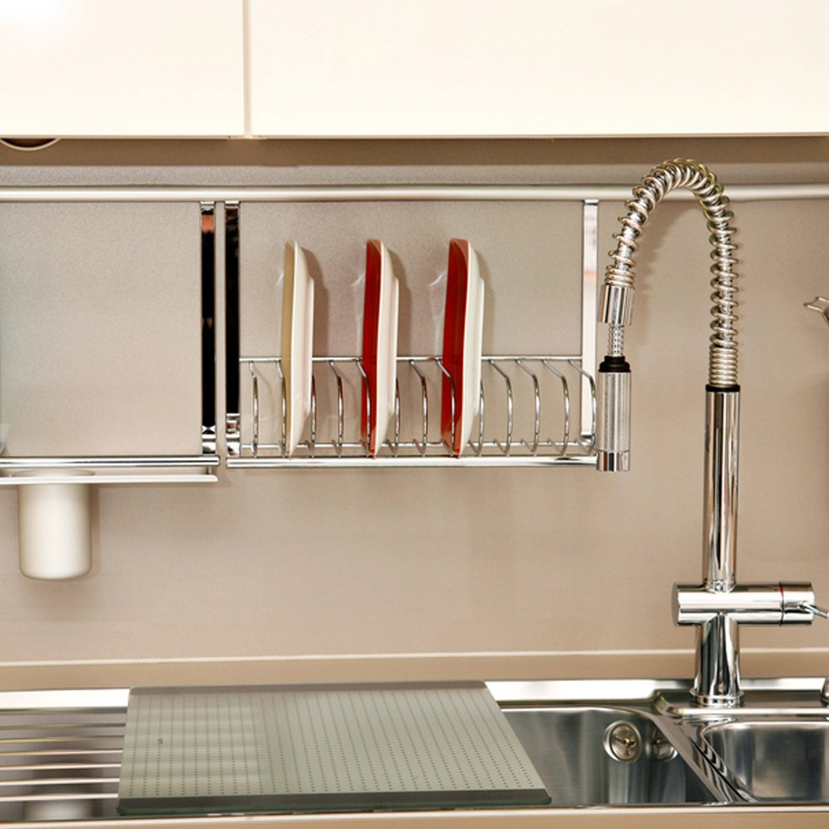 shutterstock_131620481 above the sink kitchen storage rack