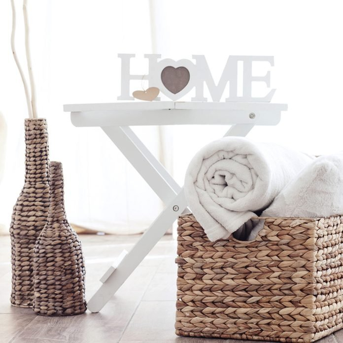 Baskets and Ottomans