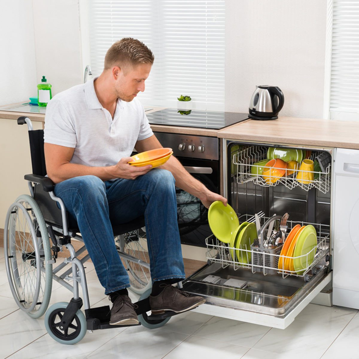 shutterstock_280796900 handicap accessible kitchen wheelchair