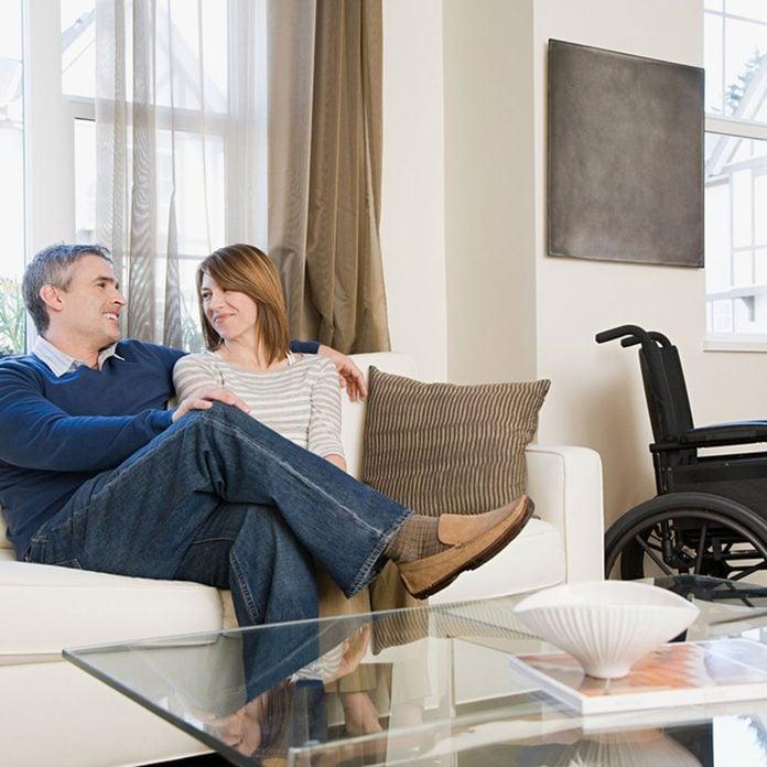shutterstock_380349256 living room wheelchair