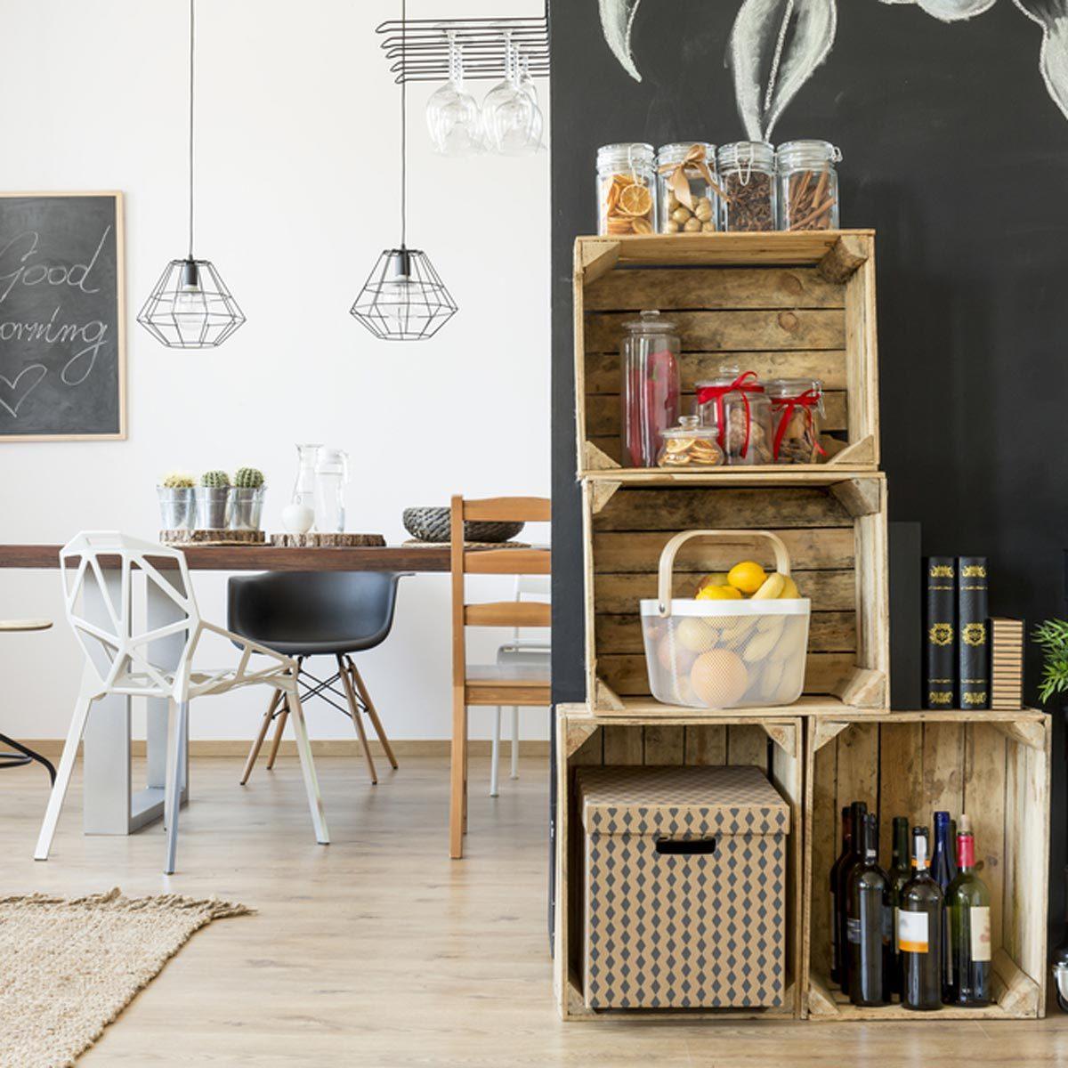shutterstock_534157990 crates for kitchen storage