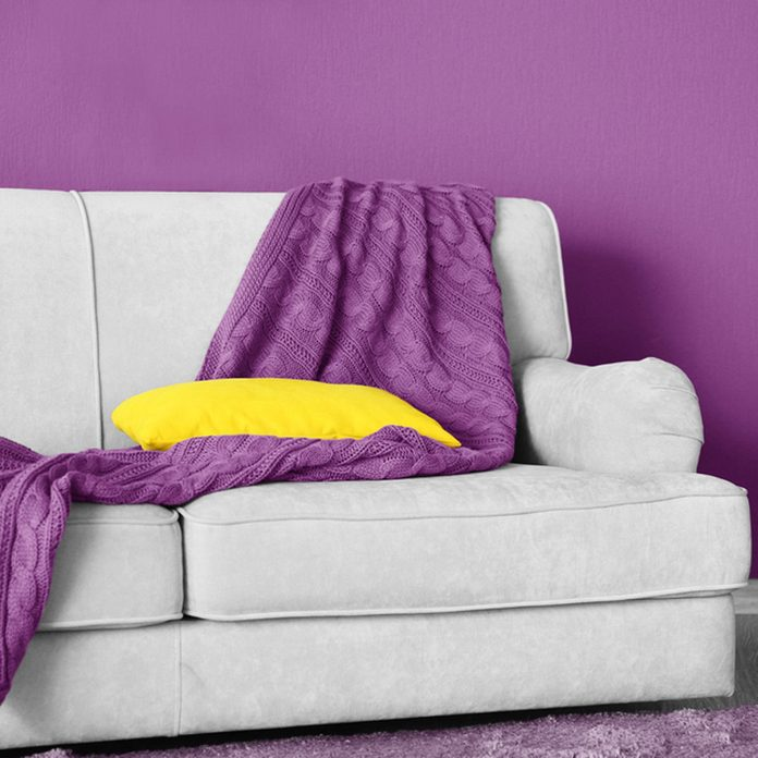 shutterstock_650771770 ultra violet paint color couch