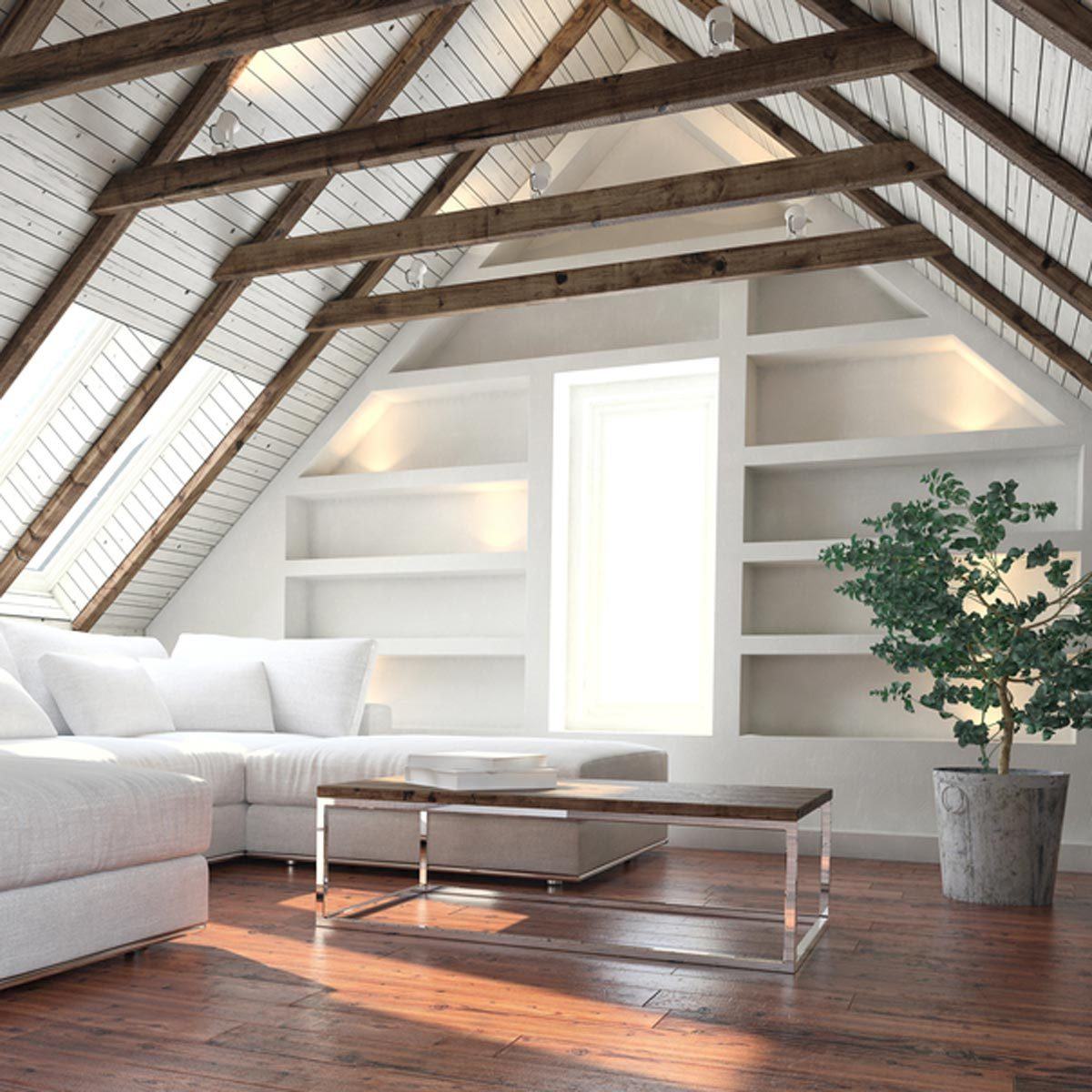 shutterstock_658288114 finish attic diy projects