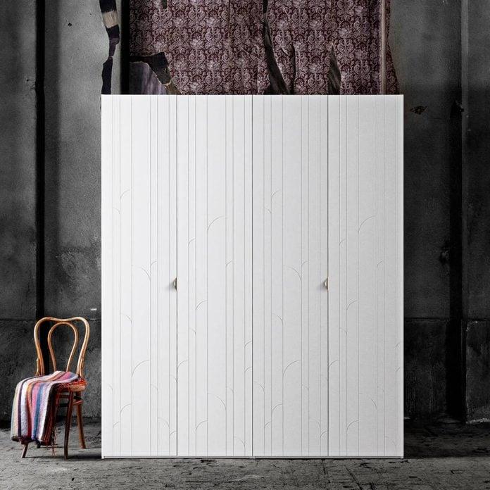 superfront-wardrobes-ikea-pax-cabintets-fronts-pattern-marais-handle-holy-wafer-brass