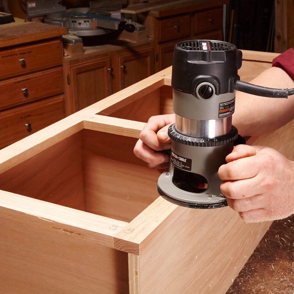 Trim some face frames flush   Construction Pro Tips