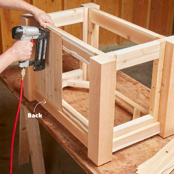 adding planks to fire table