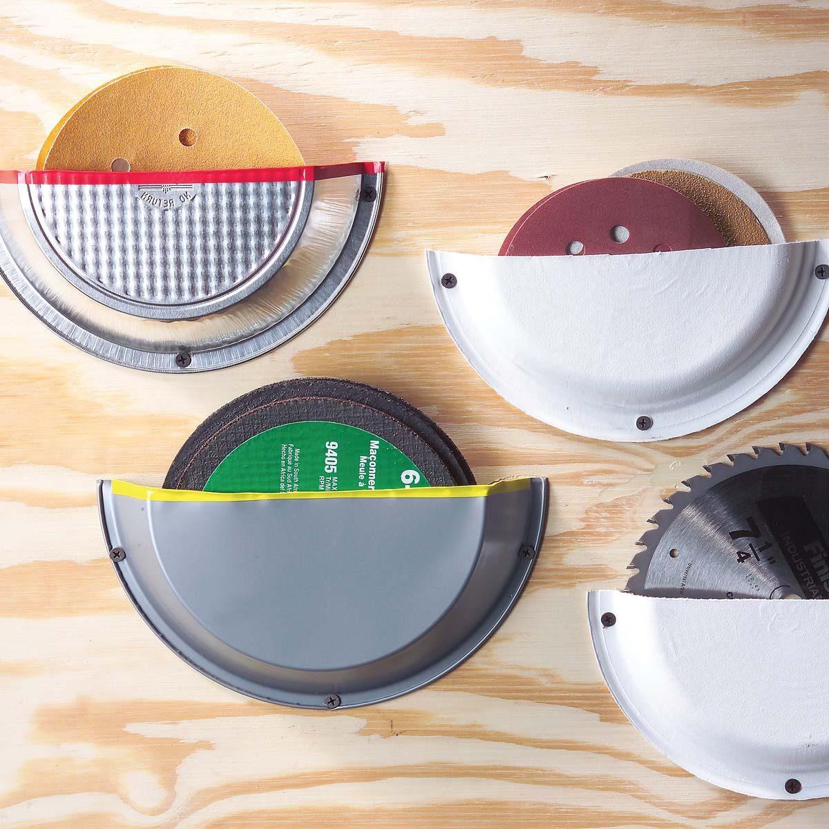 sanding disc storage